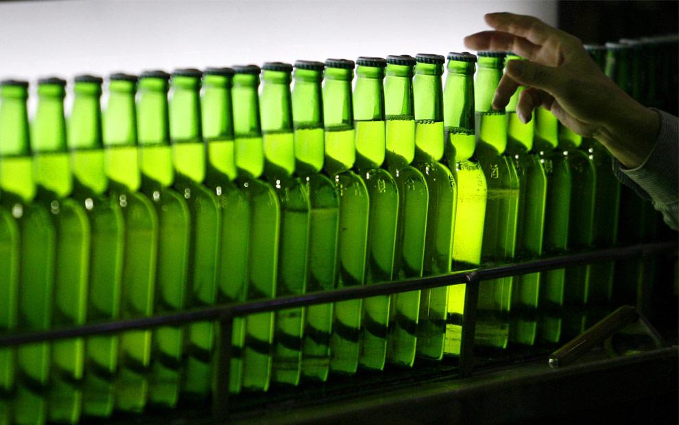 Eu conheço essa garrafa verde!
