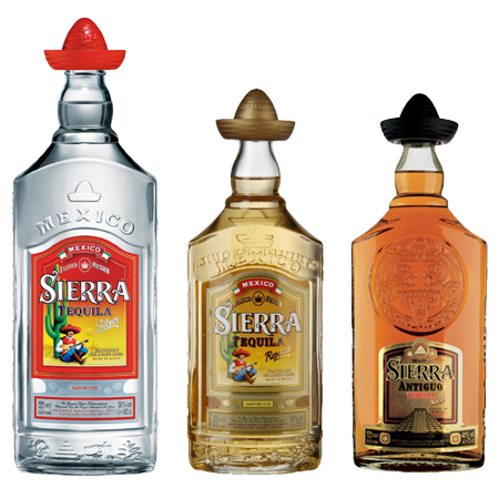 sierra tequila As 5 bebidas mais fortes do mundo