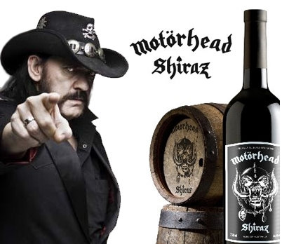 MOTORHEAD SHIRAZ Heavy Metal Wine