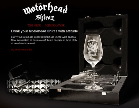 motorhead Heavy Metal Wine