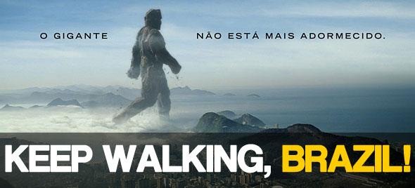 Homenagem da Johnnie Walker ao Brasil