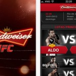 Budweiser lana aplicativo de Iphone para fs de MMA