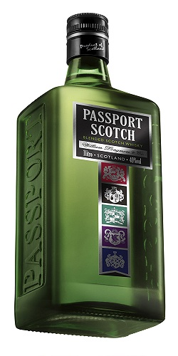 Nova Lateral Whisky Passport esta de cara nova