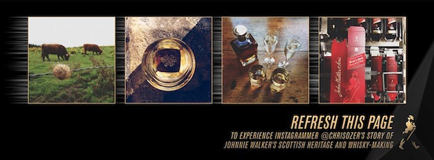 Keep Refreshing   Johnnie Walker no Facebook