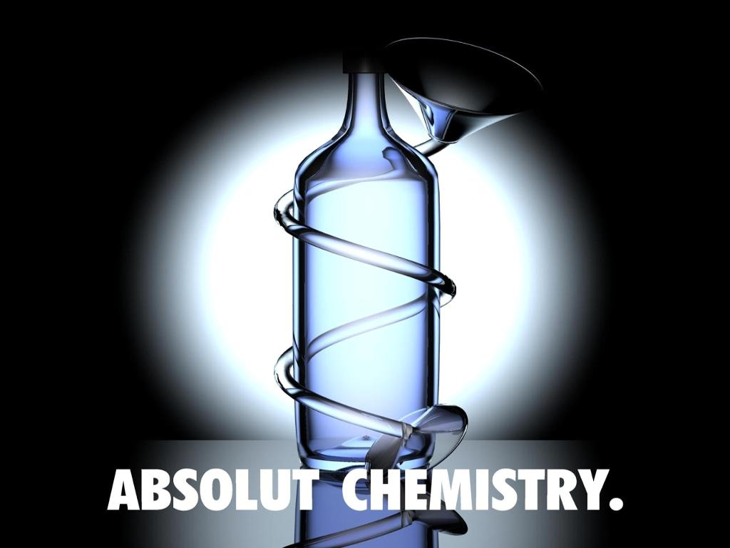 absolut quimica Destilando: Absolut Vodka