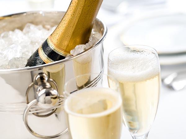 bebidas champagne