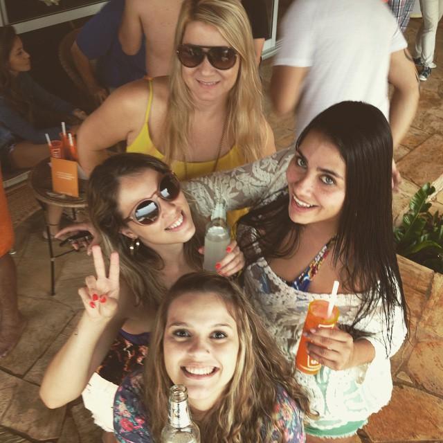 Dani Birita do Bebida Liberada, Ariana Souza, Mayara Ruiz e Lívia Alves