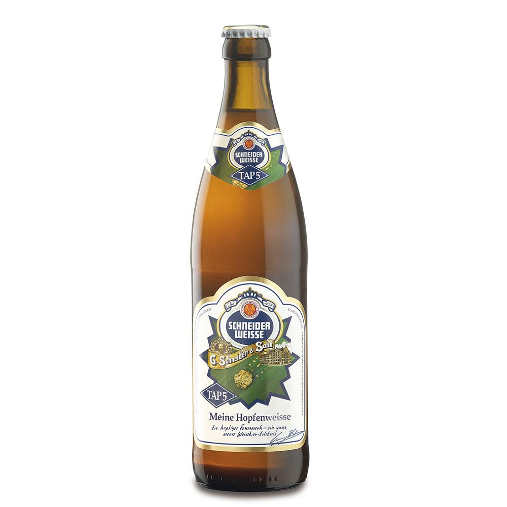 Dica de cerveja Weizenbock: Schneider Weisse TAP 5 Meine Hopfenweisse