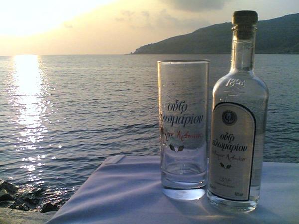 Uma boa bebida para uma boa paisagem!