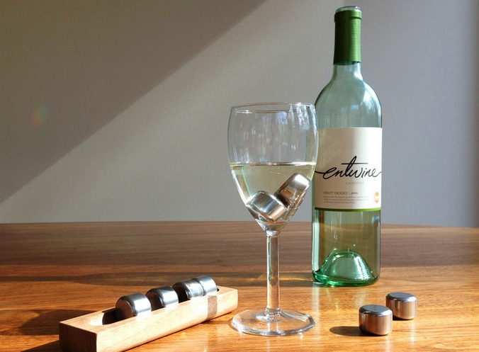 pucs vinho gelo reutilizável