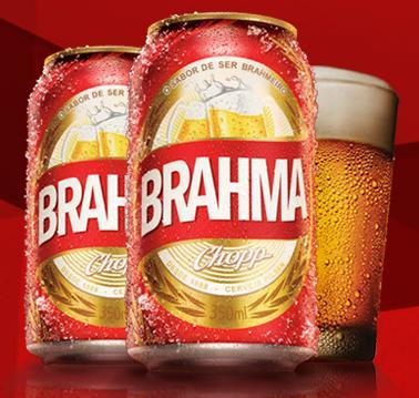brahma lata vermelha