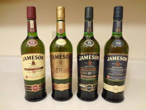 bebidas valiosas 20 Jamenson