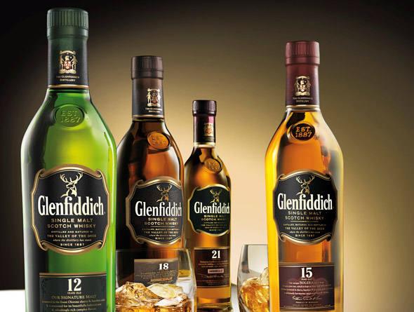 bebidas valiosas 35 glenfiddich