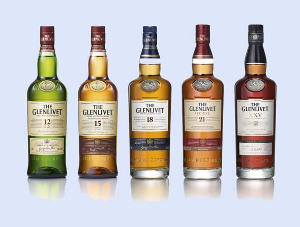 bebidas valiosas 38 the glenlivet