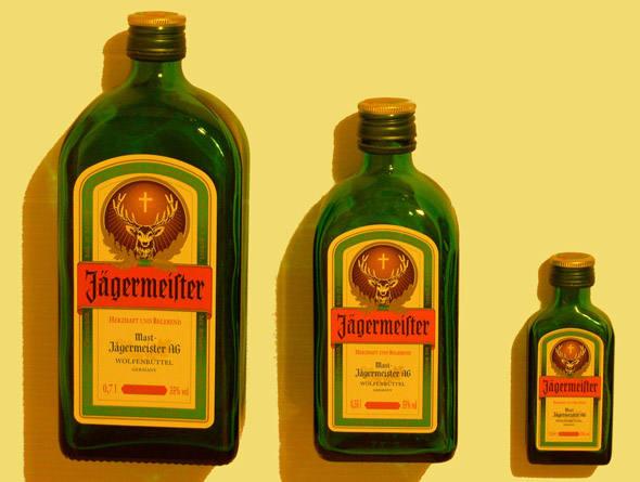 bebidas valiosas jagemeister