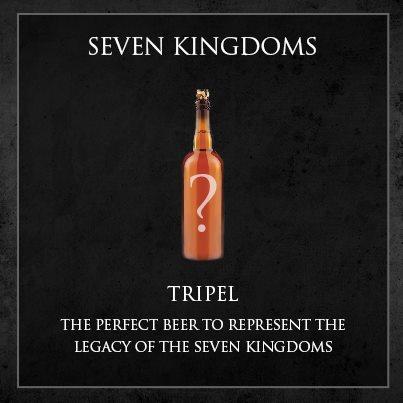 cerveja game of thrones - seven kingdoms tripel
