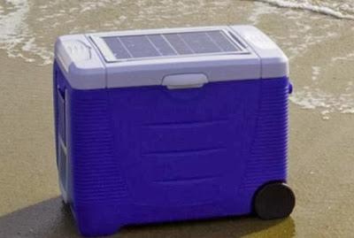cerveja energia solar cooler