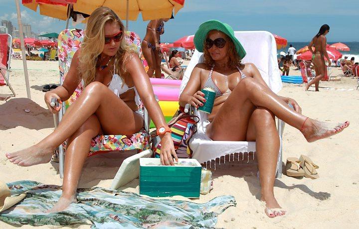 isopor praia