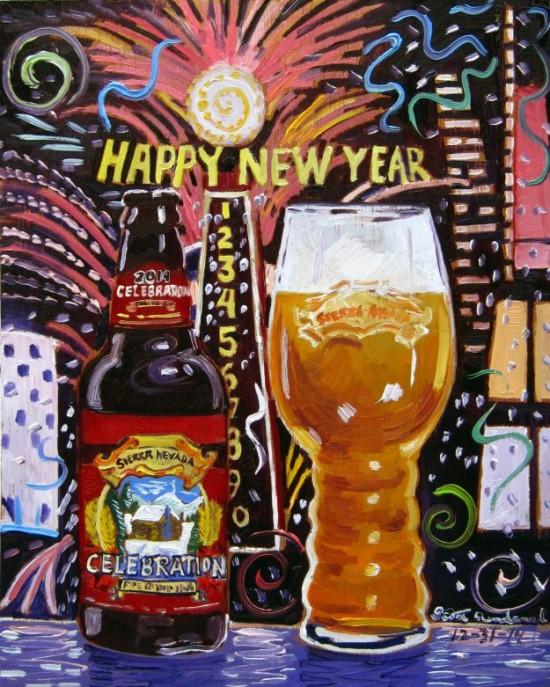 beer-painting-of-celebration-by-sierra-nevada-year-of-beer-paintings-scott-clendaniel-550x687