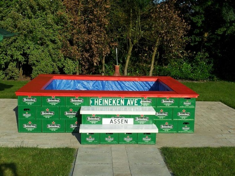 piscina vazia